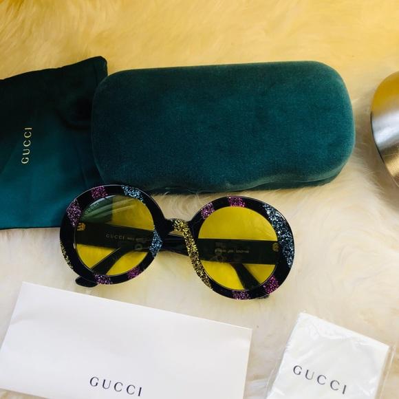 5d5f24bae5b New authentic Gucci glitter sunglasses